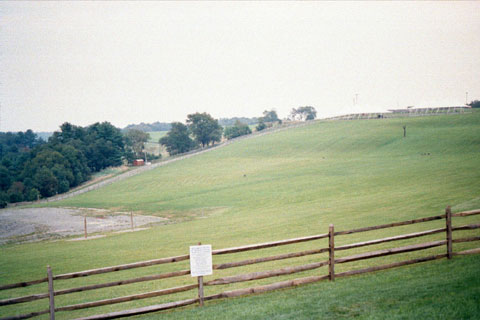 Following the sale ofthe Woodstock Site, fences went up and signs were posted